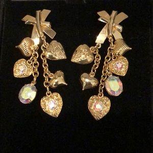 EUC Kirks Folly Vintage pierced earrings